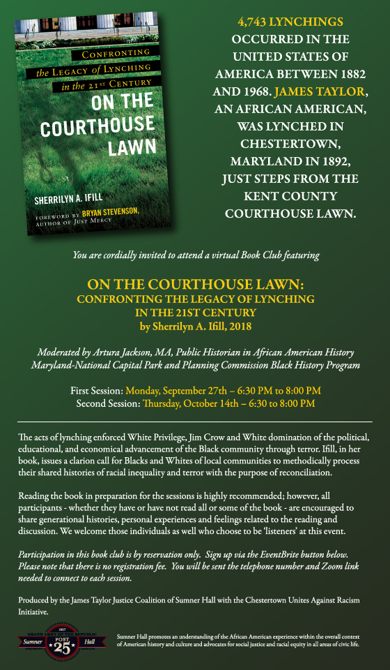 BOOK CLUB: On the Courthouse Lawn (Session 2)